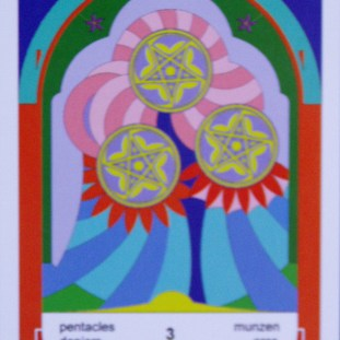 3 of Pentacles (c) Jordan Hoggard 2010