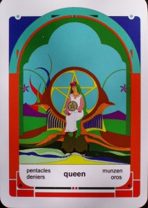 Queen of Pentacles (c) Jordan Hoggard 2010