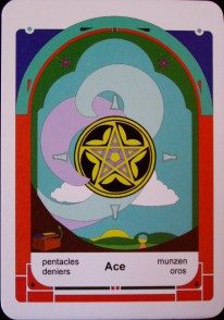 Ace of Pentacles (c) 2010 Jordan Hoggard