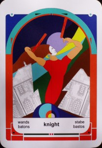 Knight of Wands (c) J Jordan Hoggard 2012
