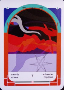 7 of Swords (c) Jordan Hoggard 2010