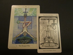 The Hanged Man ~ Thoth & Hermetic...