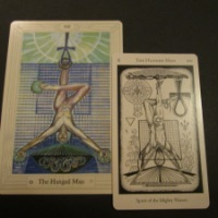 Sermons from my Hierophant left me hanging with The Hanged Man...