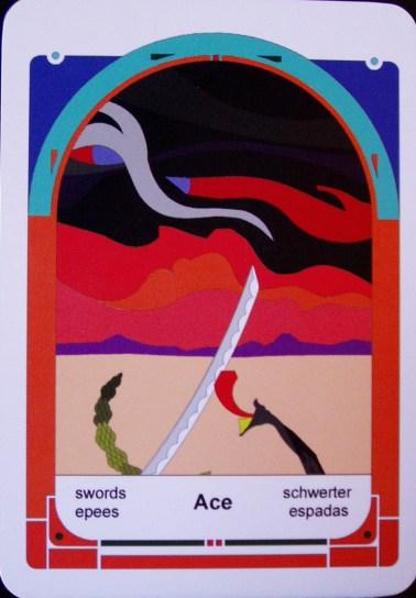 Ace of Swords (c) Jordan Hoggard 2010