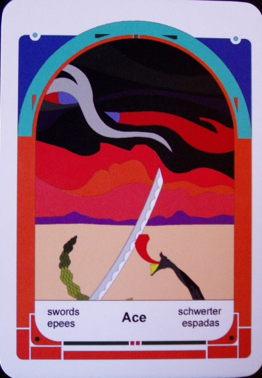 Ace of Swords (c) Jordan Hoggard 2010