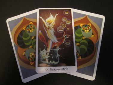 XX REJUVENATION Tarot of the Cat People Karen Kuykendall
