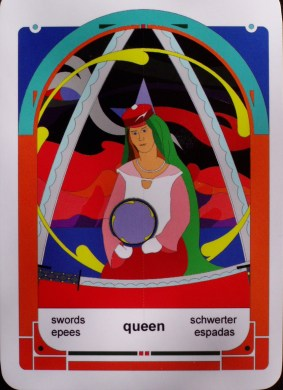 Queen of Swords (c) Jordan Hoggard 2010