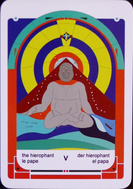 V The Hierophant (c) Jordan Hoggard 2010