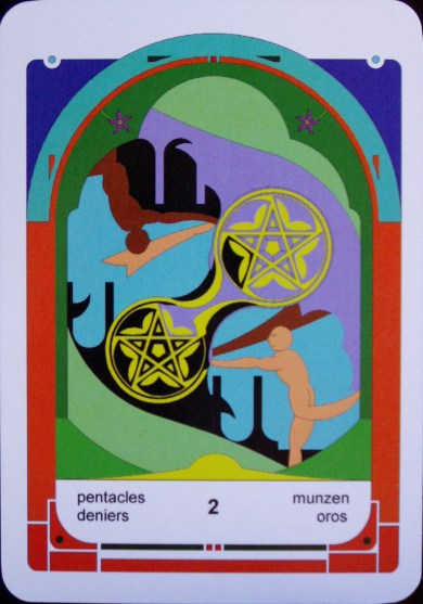 2 of Pentacles (c) Jordan Hoggard 2010