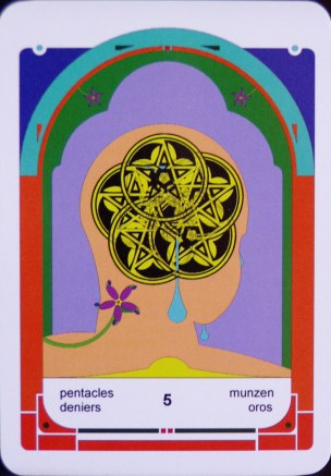 5 of Pentacles (c) Jordan Hoggard 2010