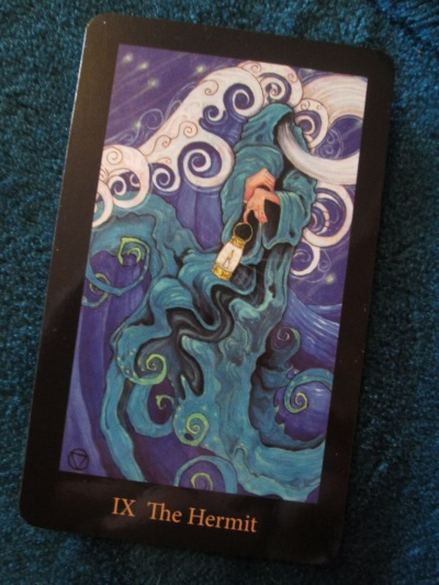 IX The Hermit The Mary-El Tarot by Marie White