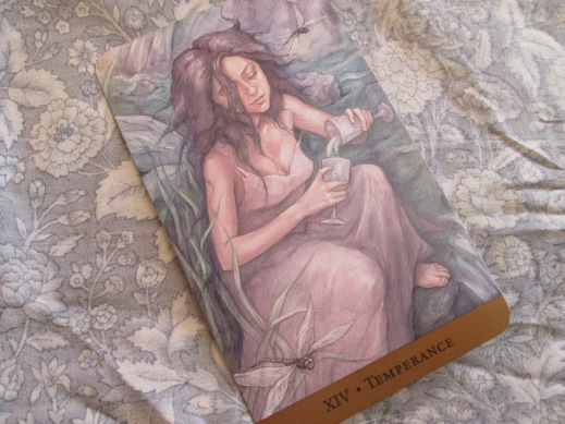 XIV ~ Temperance  Tarot of the Hidden Realm
