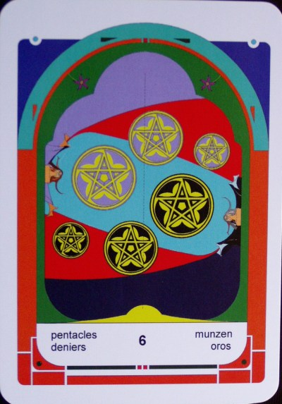 6 of Pentacles (c) Jordan Hoggard 2010