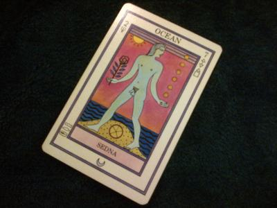 Seven of Water Elemental Tarot by Caroline Smith & John Astrop