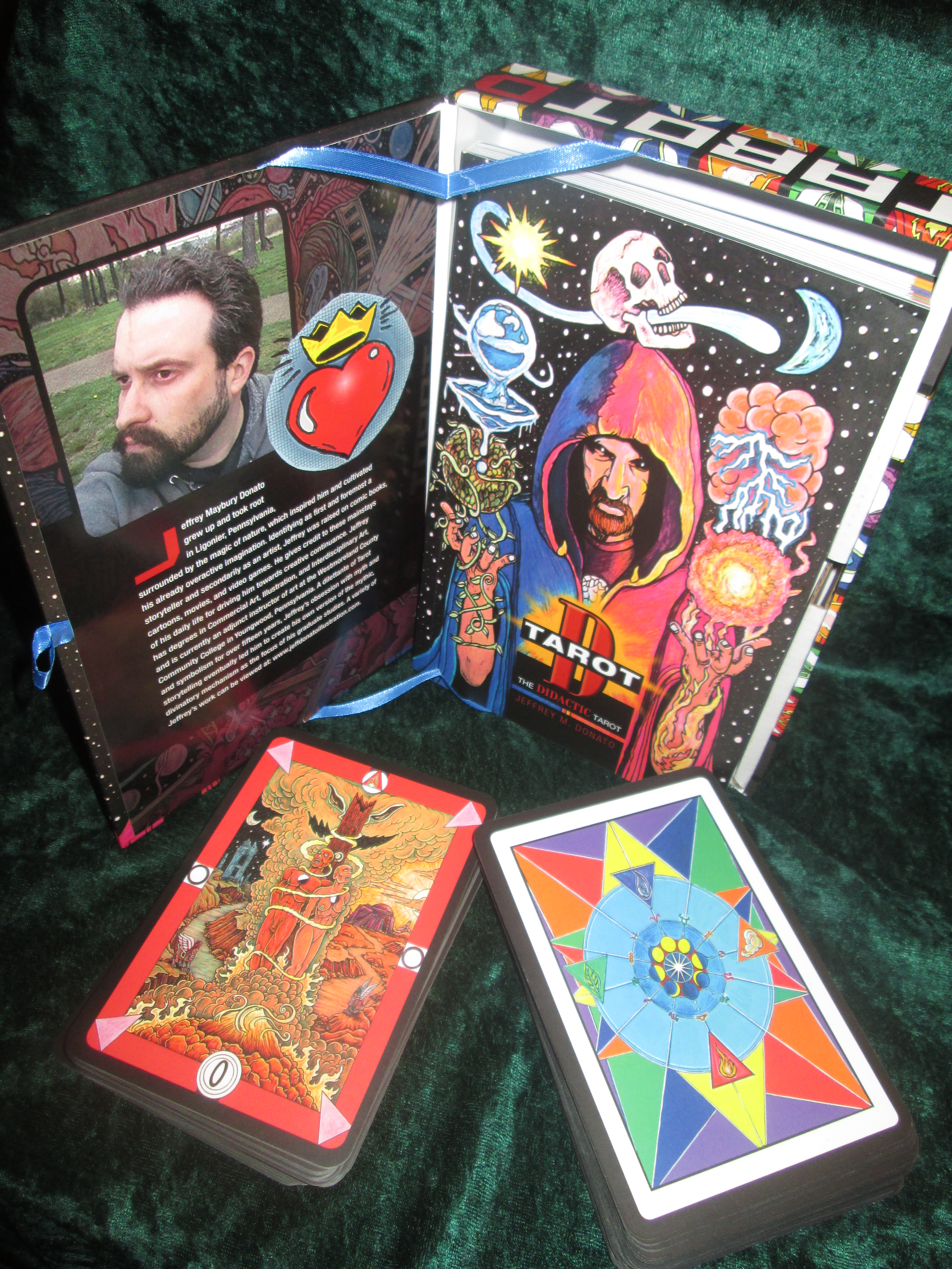 Tarot D The Didactic Tarot By Jeffrey M Donato: Epic Adventures With The Didactic Tarot…
