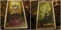 Magician & 10 of Pentacles - Mercury/Virgo